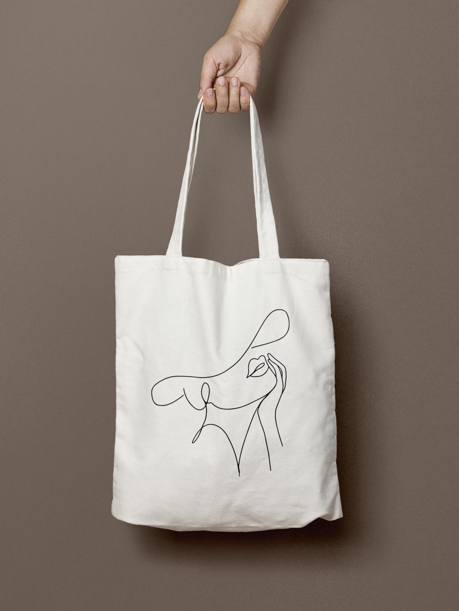 Studio Antheia Tote bag | Branding and design studio #branding #designer  #Antheia #Tote in 2020 | Tote bag canvas design, Canvas bag design, Tote bag  pattern