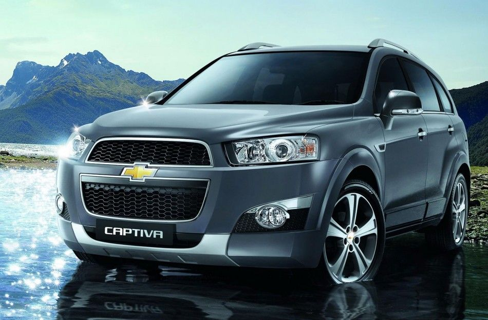 New Chevrolet Captiva Sport Models Suv Background Jpg 950 623