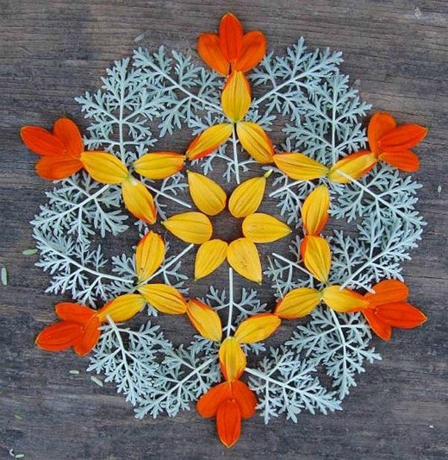 Kathy Klei mandalas-con-colores-hojas-invierno | Mandalas ...