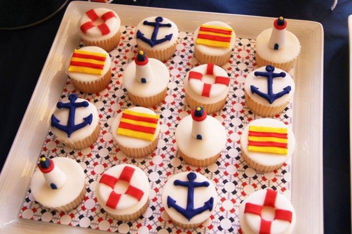 Happy Columbus Day Amy Atlas Events Happy Columbus Day Columbus Day Nautical Cupcake