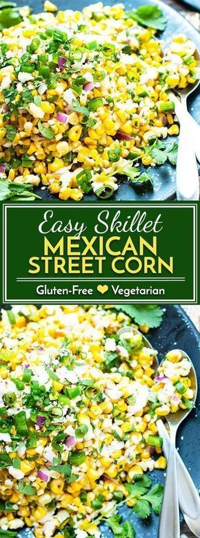Easy Mexican Street Corn Salad (in 20 Minutes!) - Evolving Table