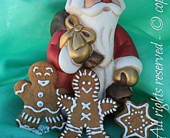 Biscotti di pan di zenzero Gingerbread cookie
