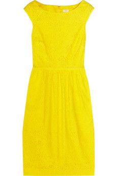 Hello Sunshine! Come into my life.   The Lucille cotton-blend lace dress #love
