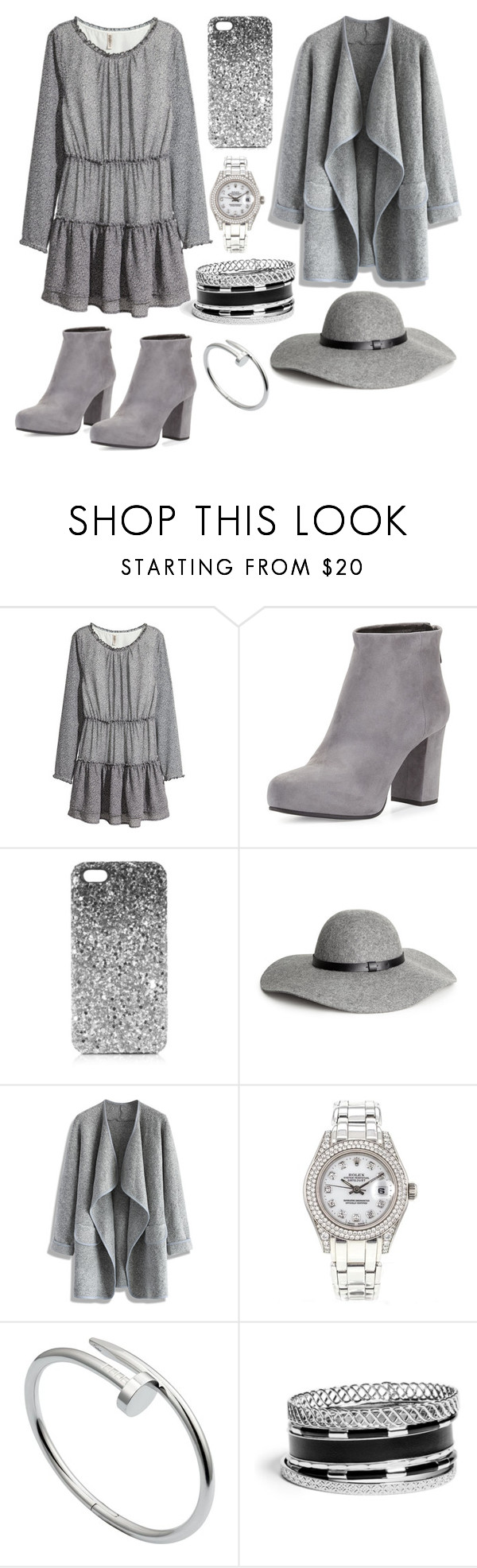 21. by xxaymxx on Polyvore featuring moda, H&M, Chicwish, Prada, GUESS, Rolex, Cartier and Topshop