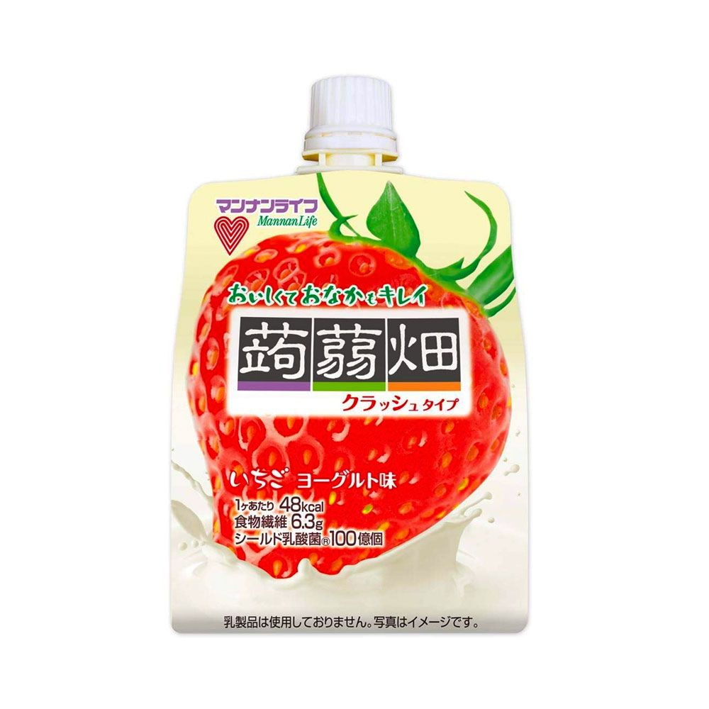 Mannalife Konyakubatake Konjac Strawberry Yoghurt Jelly Diet