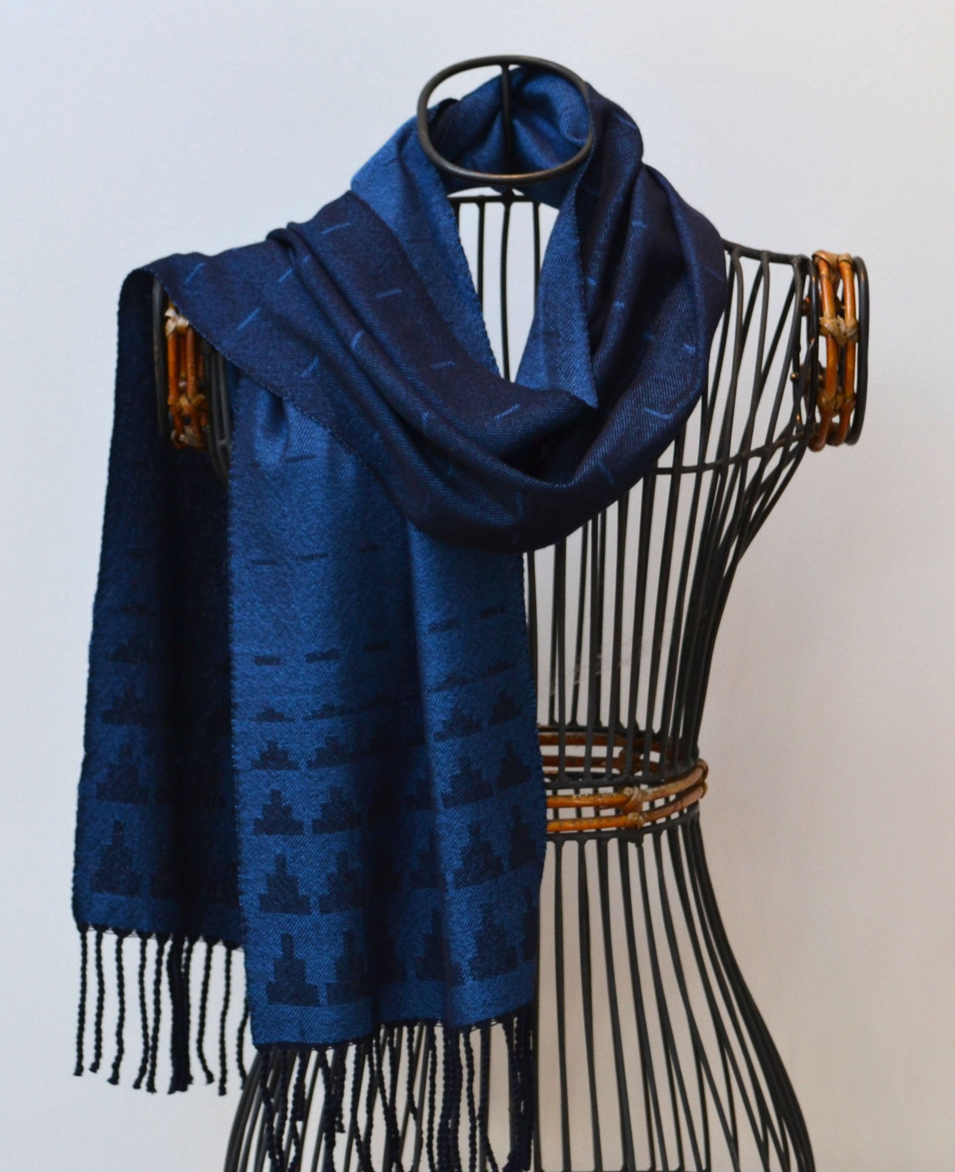 Cashmere Silk Scarf - Handwoven by VIDA VIDA kwV3D5KGVA