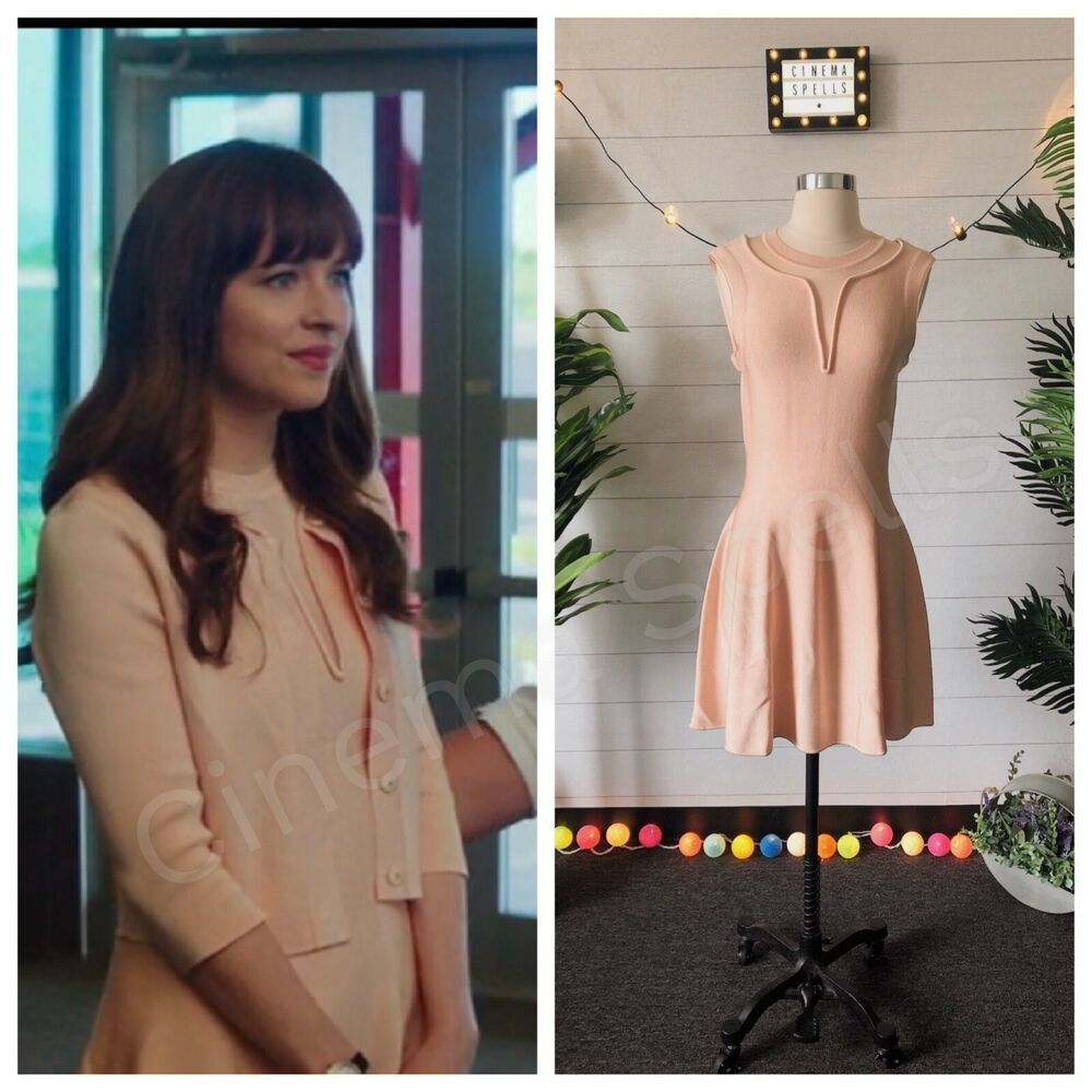 Identical Fit And Flare Blush Pink Dress To The One Seen