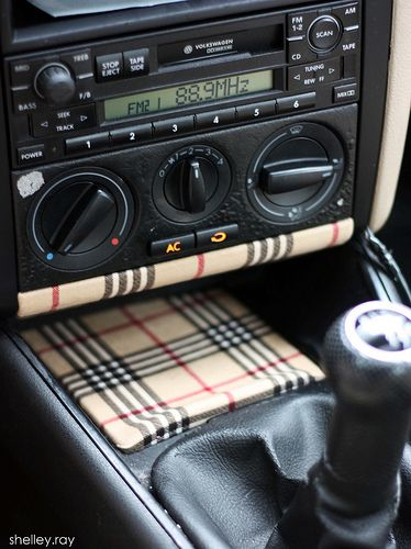 Diy Car Interior Design: Plaid Interior Mk4 - Google Search