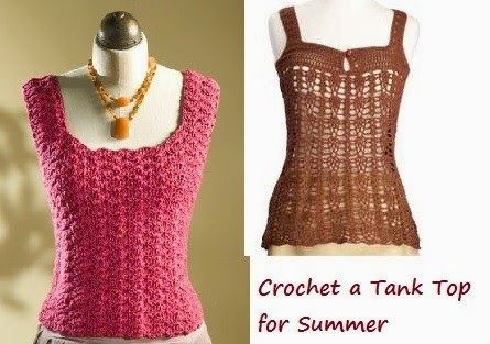 Learn How To Crochet A Tank Top With These Free Crochet Top Patterns