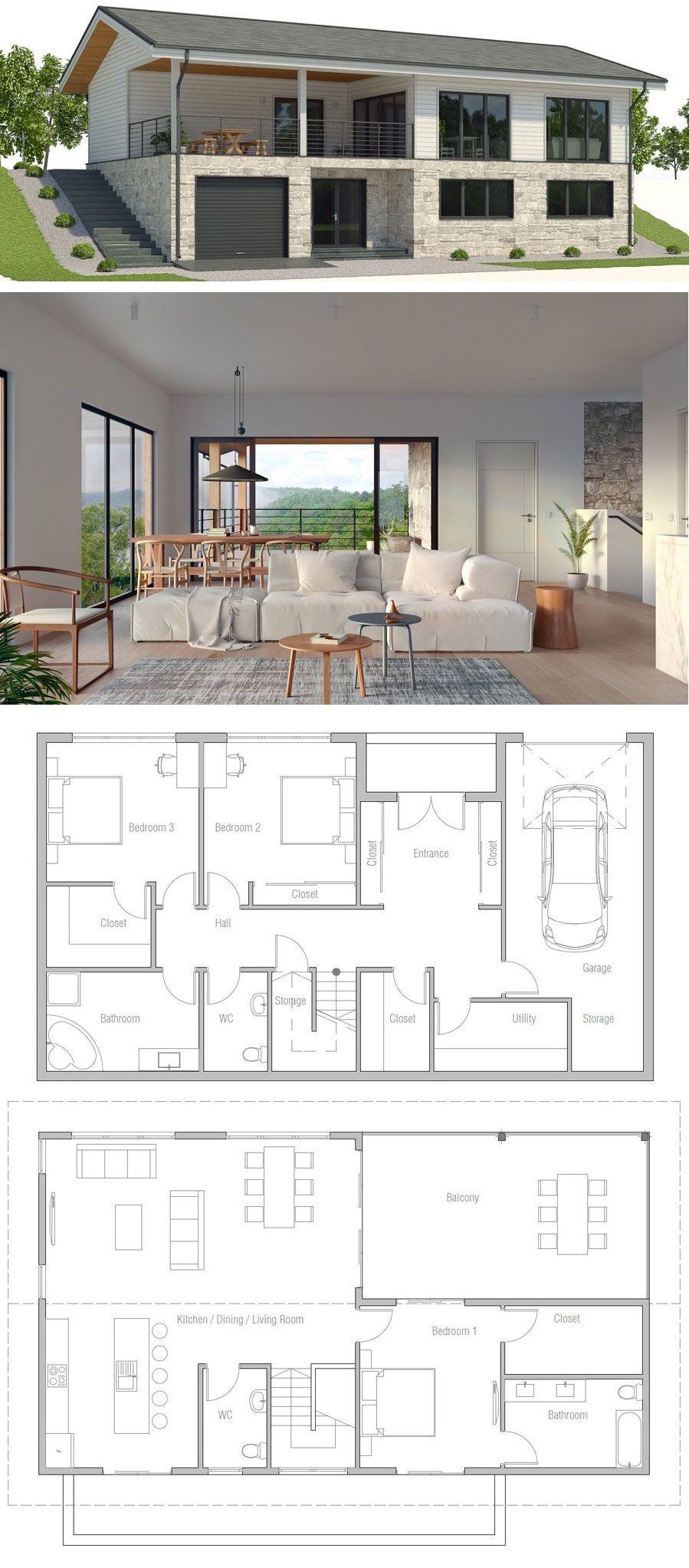 97 Idees De Maison Pente Maison Plan Maison