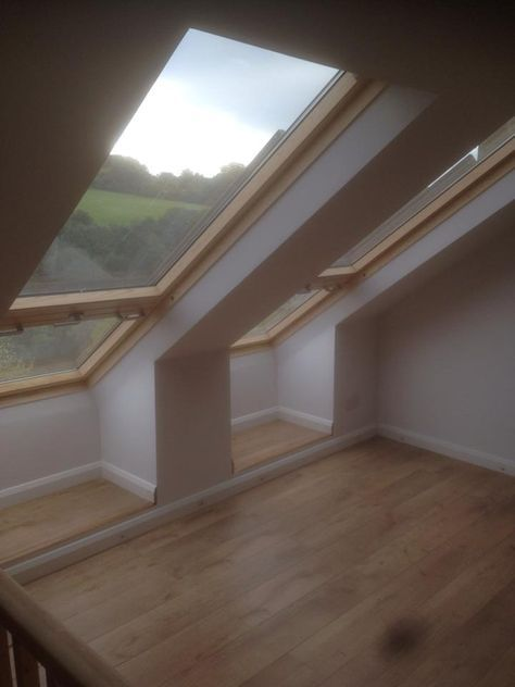 "A fantastic example of how good the VELUX CABRIO can look - especially when you have a view like this! Find out more about these special windows ow.ly/BXCuw Photo via JM Loft Conversions. Sterlingbuild #WinAVELUX"" #loftconversions"