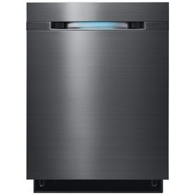 Shop Samsung Built In Dishwasher With Hard Food Disposer (Black Stainless  Steel) (Common: Actual