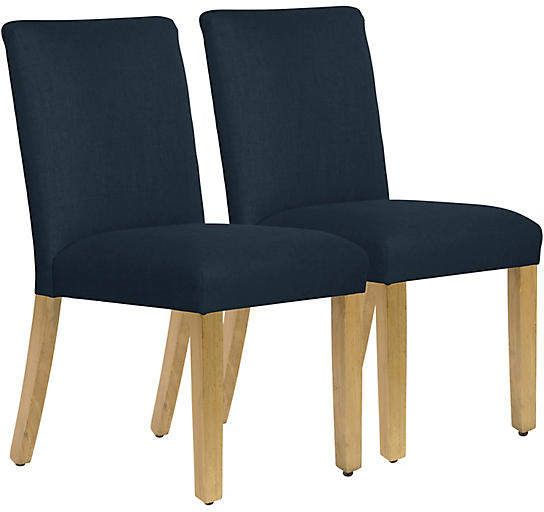 Set of 2 Shannon Side Chairs - Navy Products Pinterest Side