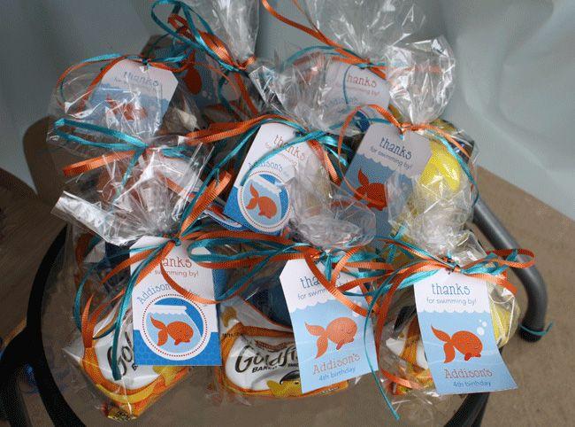 Goldfish party Addison is 4 Goldfish crackers Goldfish and