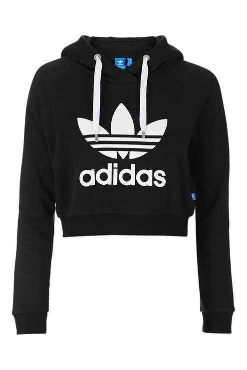 Cropped Hoodie by Adidas Originals - Brands at Topshop - Clothing in ... 590dee3abfc