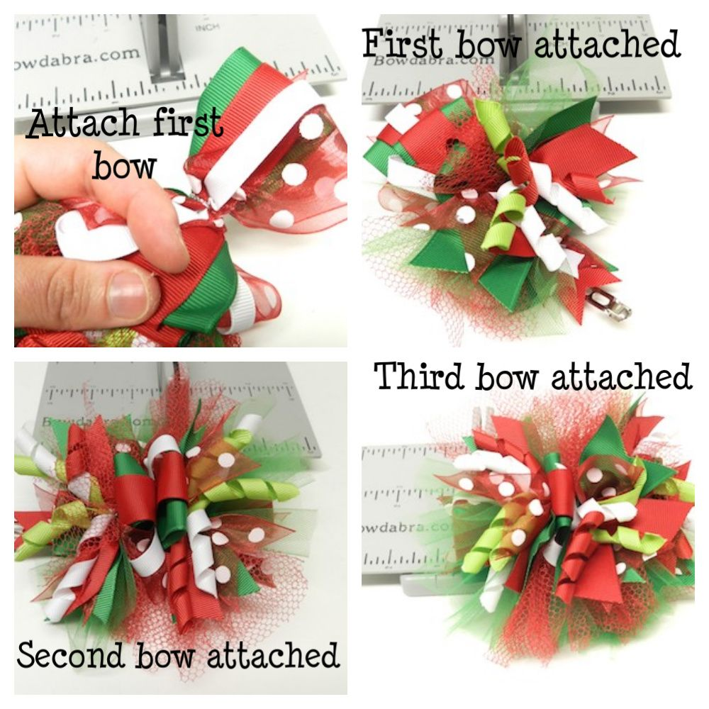 Funky loopy hair bow instructions tutorials hair bow and craft funky loopy hair bow instructions baditri Image collections