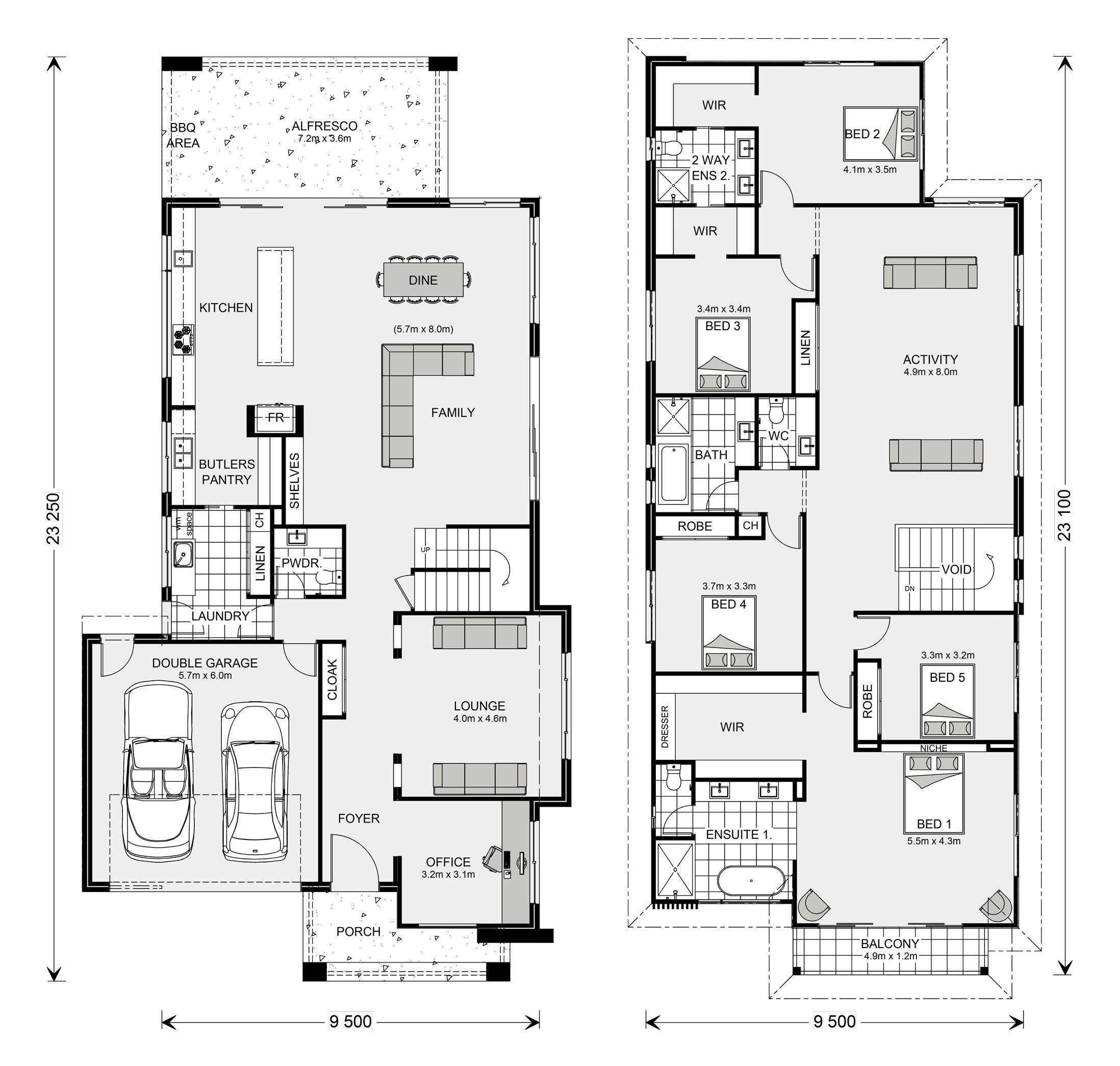 Kingscliff 324 Home Designs In Launceston G J Gardner Homes Dream House Plans Floor Plans House Plans