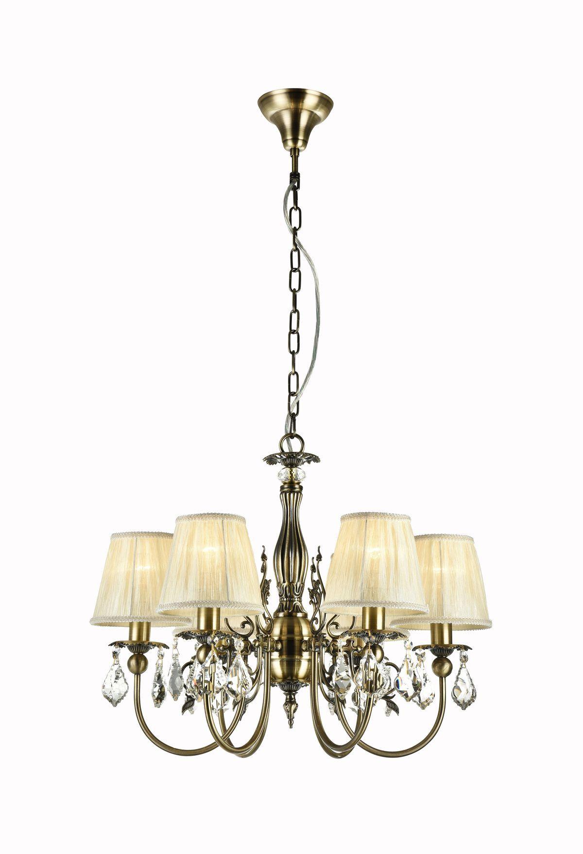 Elegant Kronleuchter Latona Bronze #kronleuchter #schirm