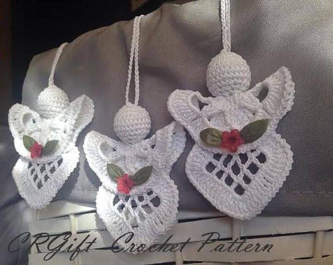 Crochet Angel Pattern Pdf Diy Craft Christmas Gift Baptism Gift