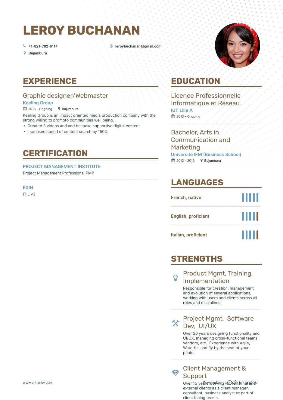 Download Webmaster Resume Example For 2020 With Images Resume