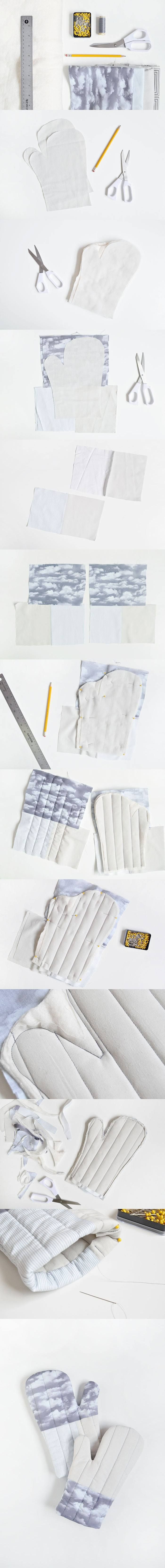 ¡Fabricas tus guantes de cocina! - Muy Ingenioso