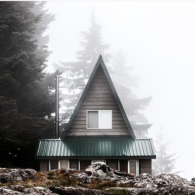 A-frame cabin in Vancouver, Canada. | Cabin Getaway | Pinterest ...
