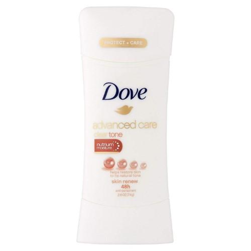 Dove Advanced Care Antiperspirant Cleartone Skin Renew 2 6 Oz Clear Tone Advanced Care Antiperspirant Deodorant Dove Deodorant