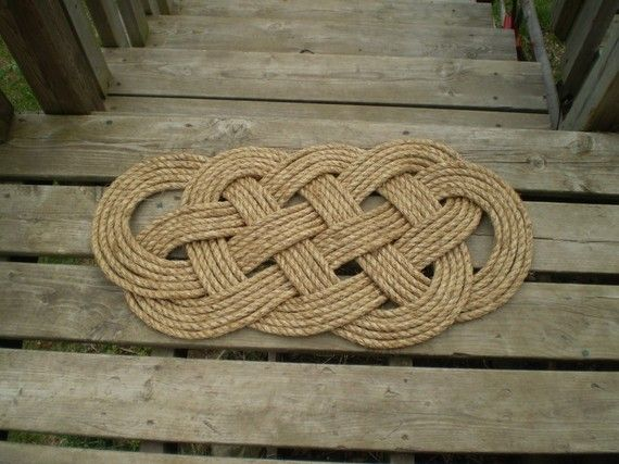Nautical Doormat Pdf Tutorial How To Make A Oceanmat This Listing Is For The