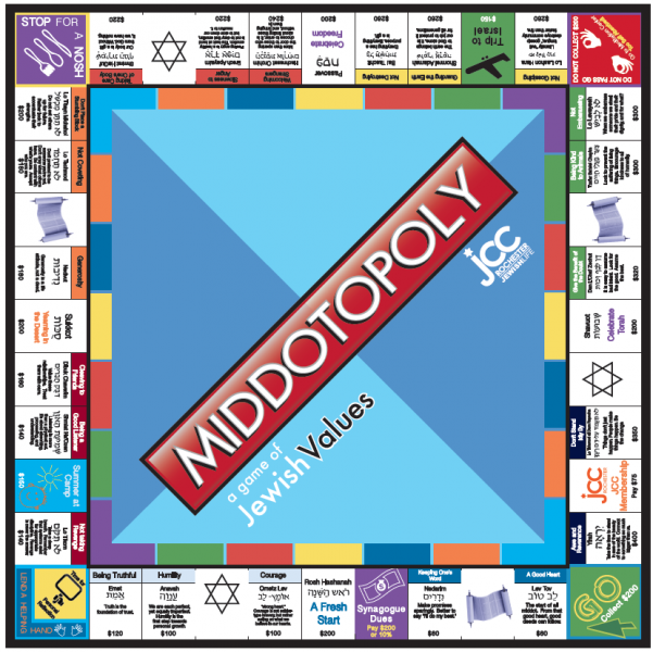 FREE Middos Middot game teaching values in a Monopoly style game in which  players. FREE Middos Middot game teaching values in a Monopoly style game