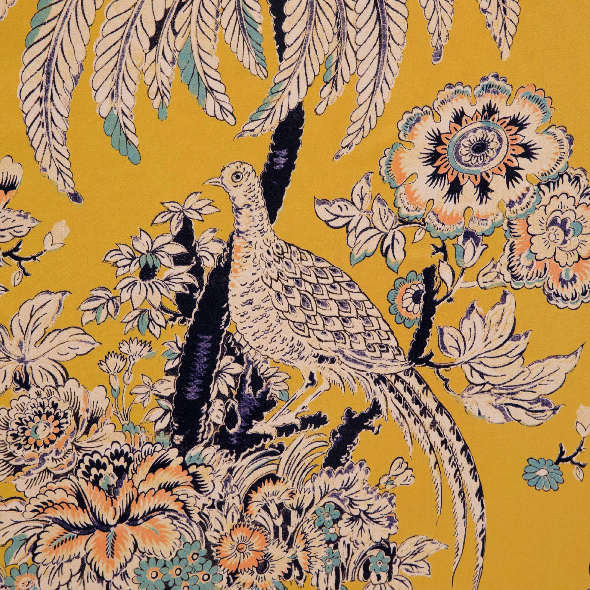 Tropical Toile Peel And Stick Wallpaper By Drew Barrymore Flower Home Yellow Walmart Com In 2021 Peel And Stick Wallpaper Wallpaper Tree House Wallpaper
