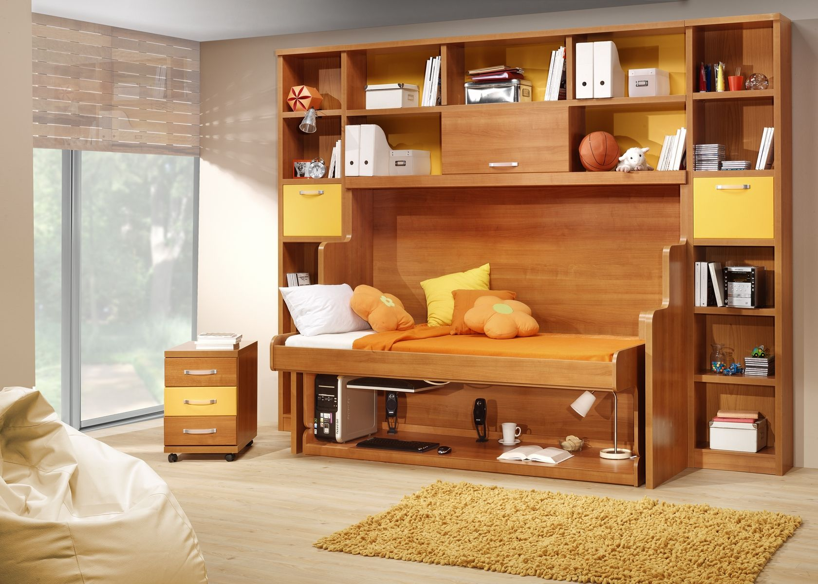 unusual ideas design hidden beds. Hidden Bed  not your grandmother s Murphy bed Just plain cool