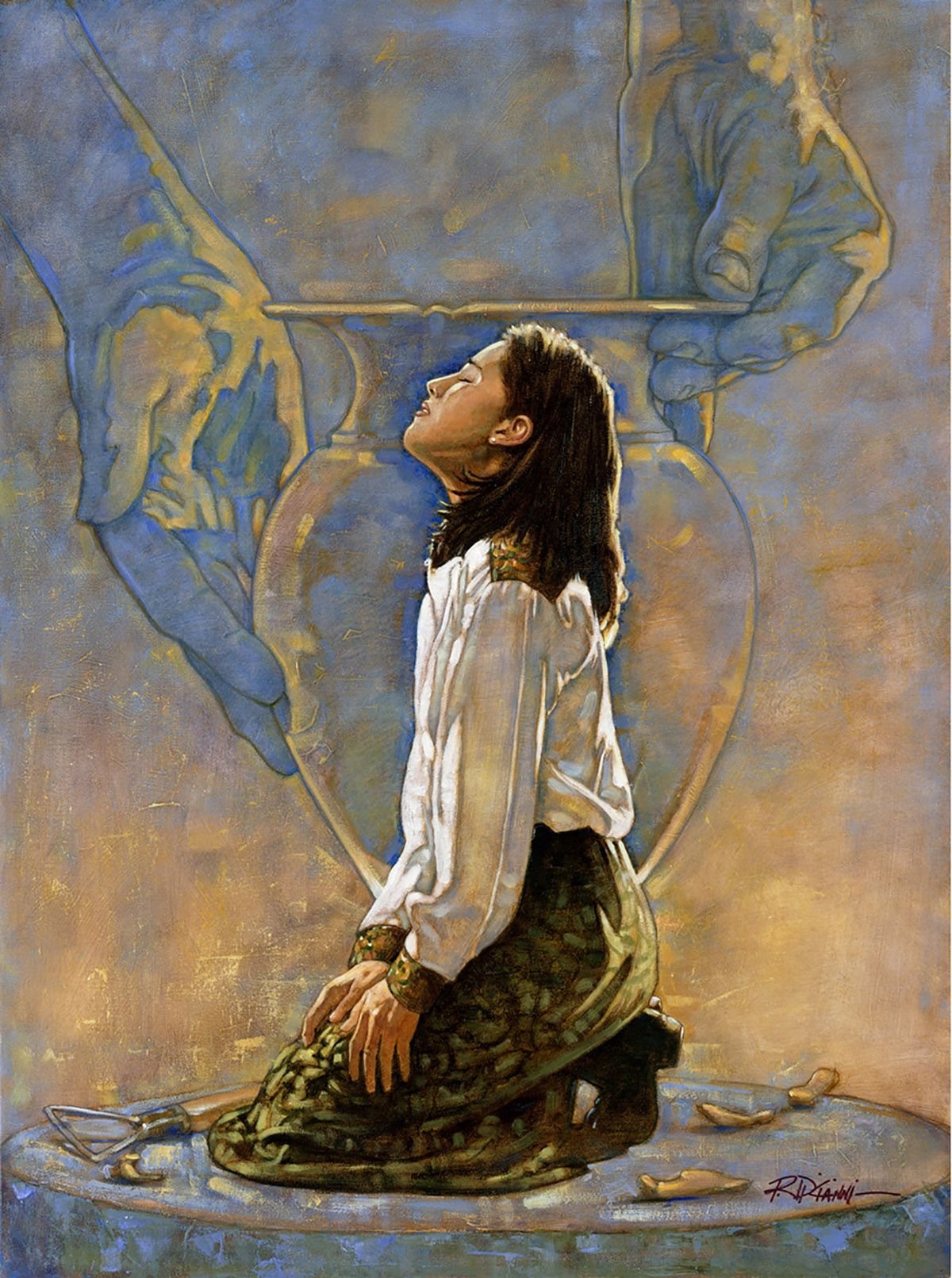 The Clay Artwork By Ron Dicianni Arte Jesus Pintura De Jesus E