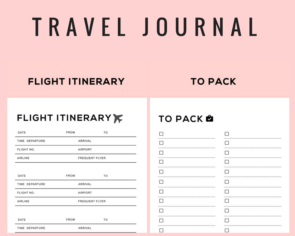 Travel Holiday Trip Planner Itinerary Planner Accommodation Planner Travel Budget Planner And Travel Check List Digital Download Itinerary Planner Travel Budget Planner Travel Itinerary Planner