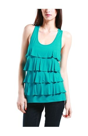 tiered tank! lots of colors and only $12.50