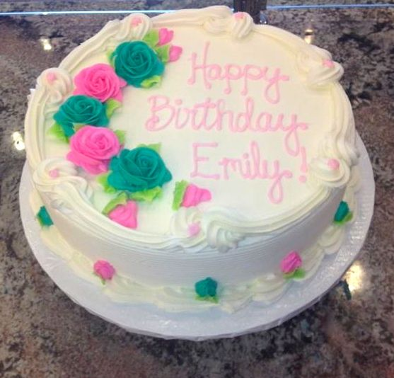 Classic buttercream birthday cake Happy Birthday Pinterest