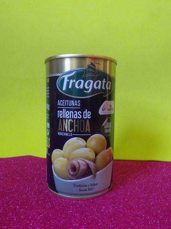 Aceitunas Rellenas de anchoas Fragata