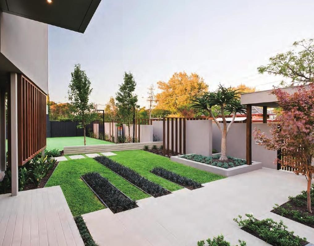 The best villa garden landscape garden landscaping for Garden design newcastle