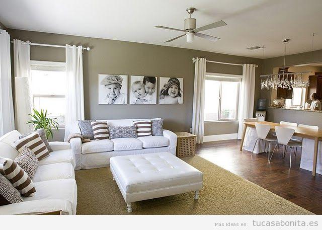 Paredes Pintadas En Dos Colores Buscar Con Google Detalles Interesantes Living Room Room