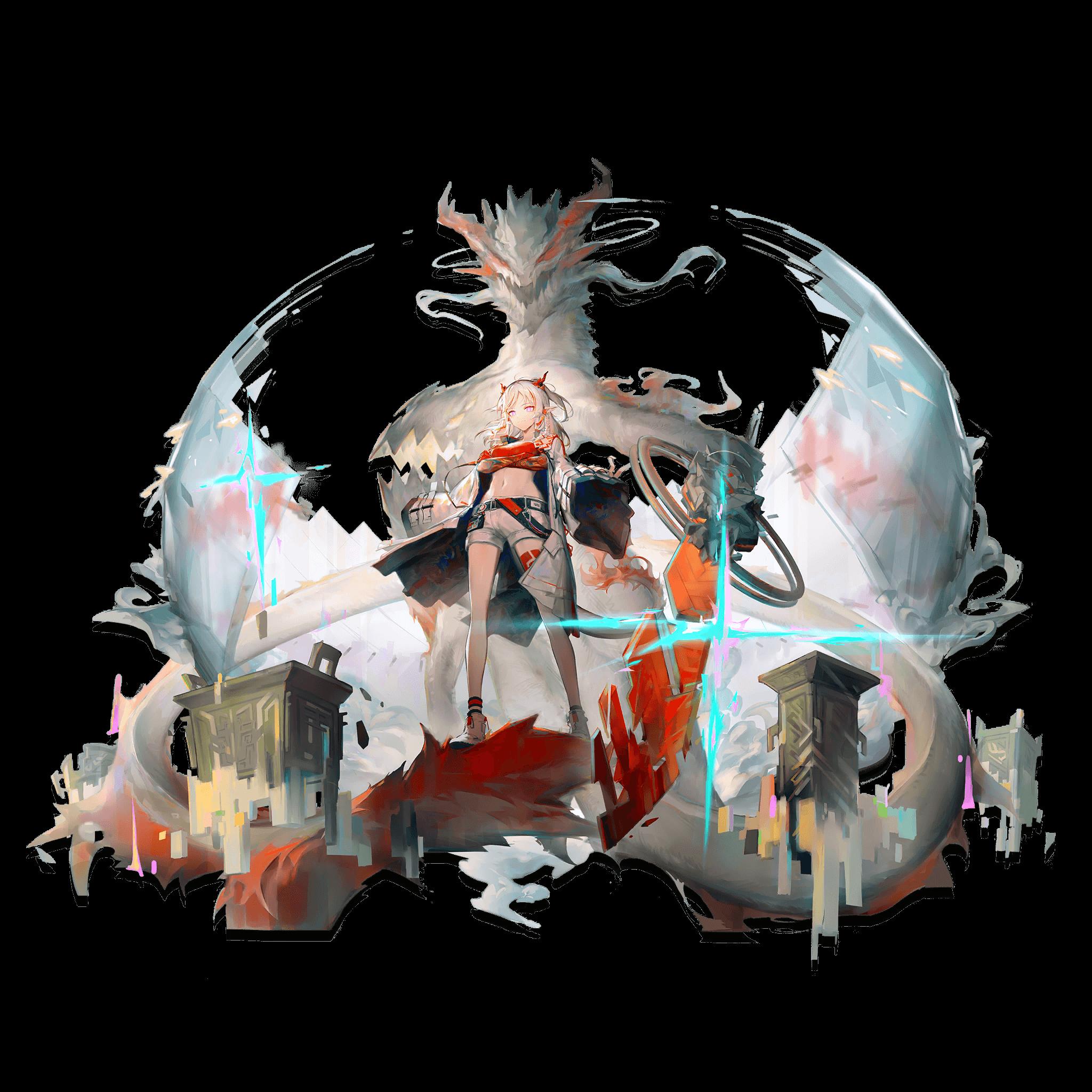 "Arknights Manticore Elite 2 Anime Waifu Sticker 6/"" Decal E2"
