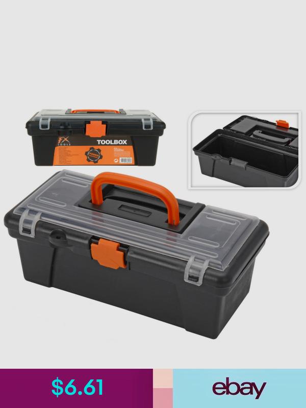 Small Mini Toolbox 12 Tool Storage Fishing Tackle Craft Plastic Organiser Box Tool Box Storage Plastic Organizer Box Tool Storage