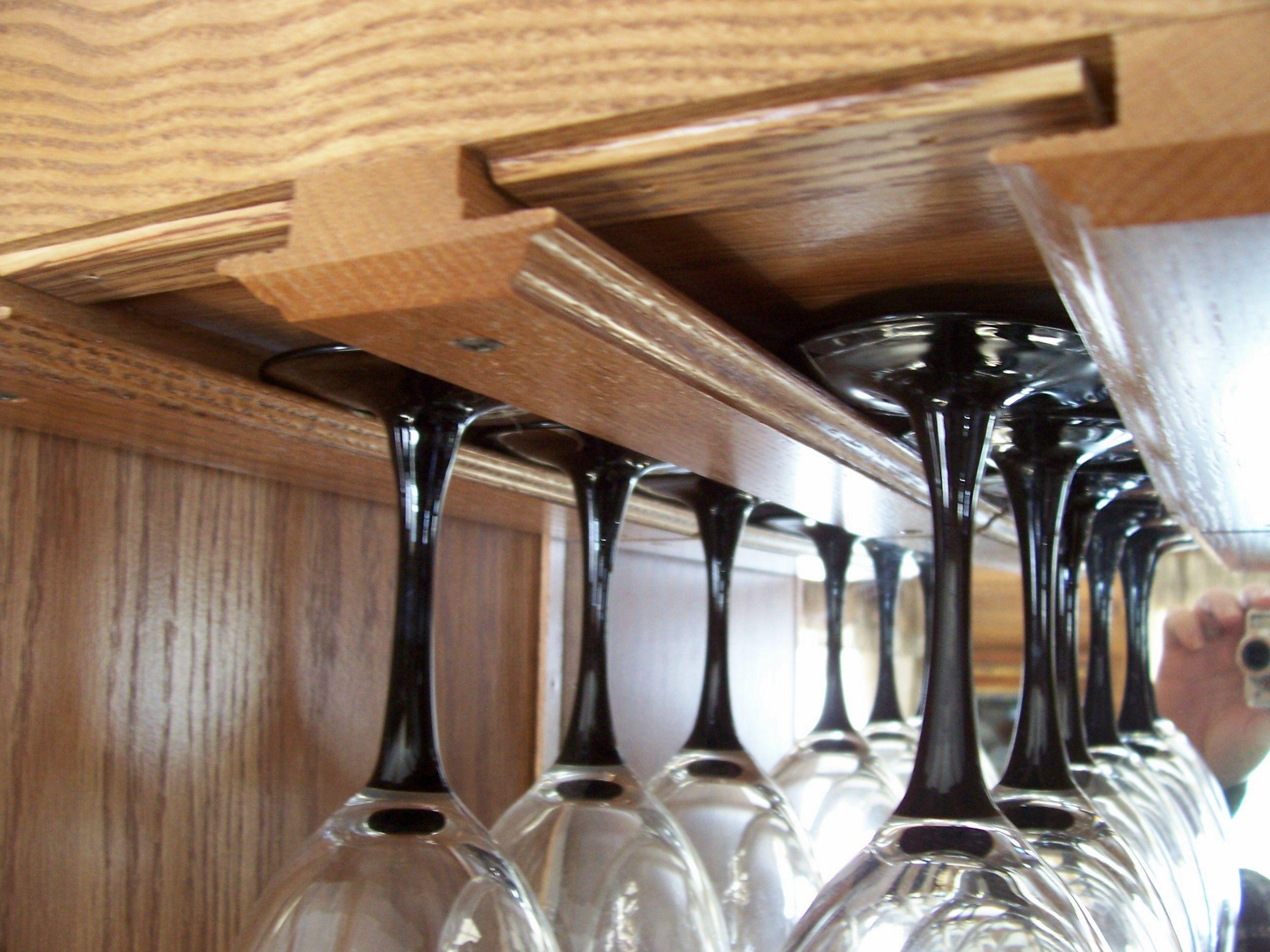 Como Construir Un Soporte Para Copas Estantería Para Copas De Vino Mueble Para Vino Como Hacer Un Bar