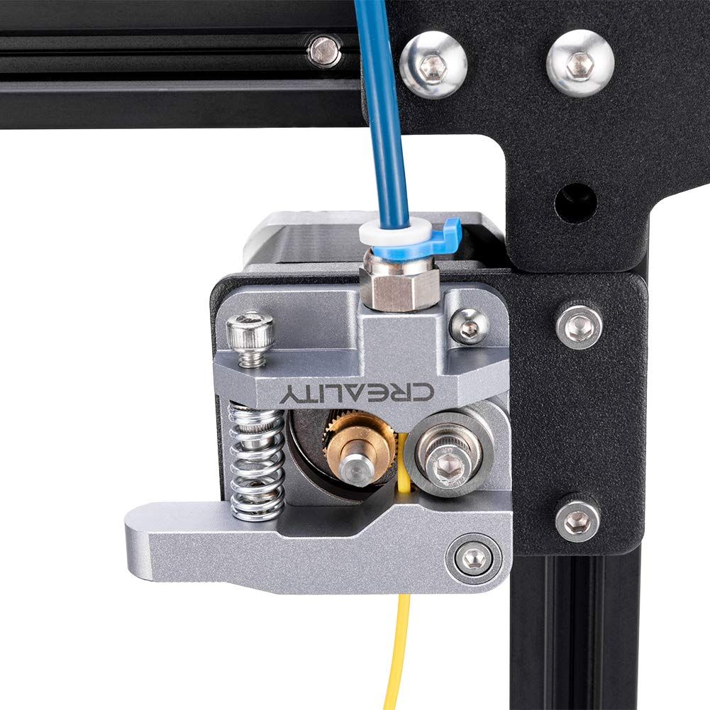 3D Printer MK8 Remote Extruder Accessories 1.75 Filament All Metal Remote Extruder for MK8 Prusa i3 or Kossel RepRap DIY Kits Aluminum Frame Block Accessory