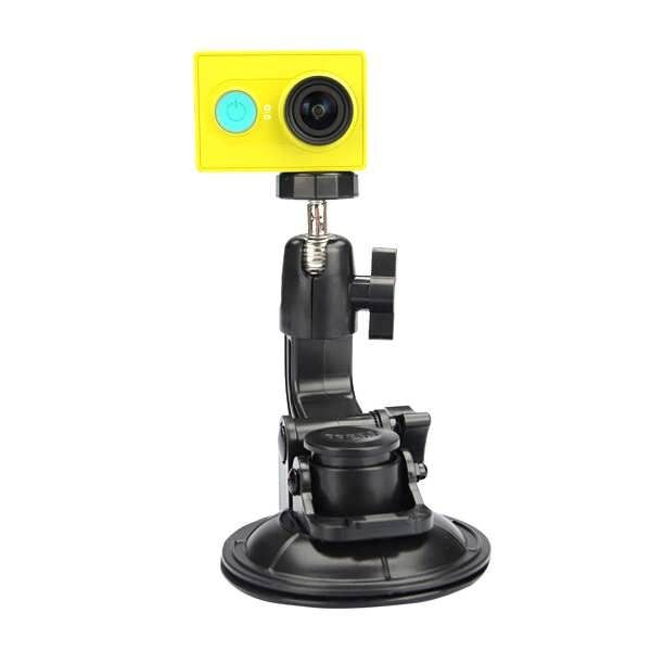 Car Suction Cup Bracket for Xiaomi Yi Action Camera Gopro ...