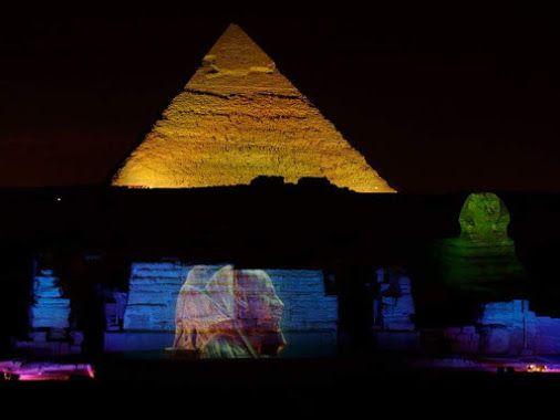 Sound & Light Show By The Giza Pyramids