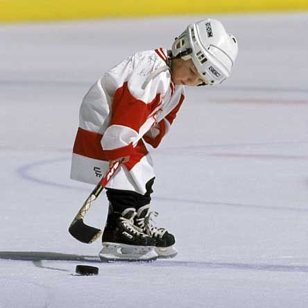 Little Hockey Boy no if ands or buts my son will play ...