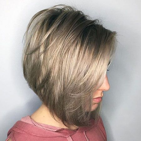 25+ Layered Bob Hairstyles for Girls - NiceStyles