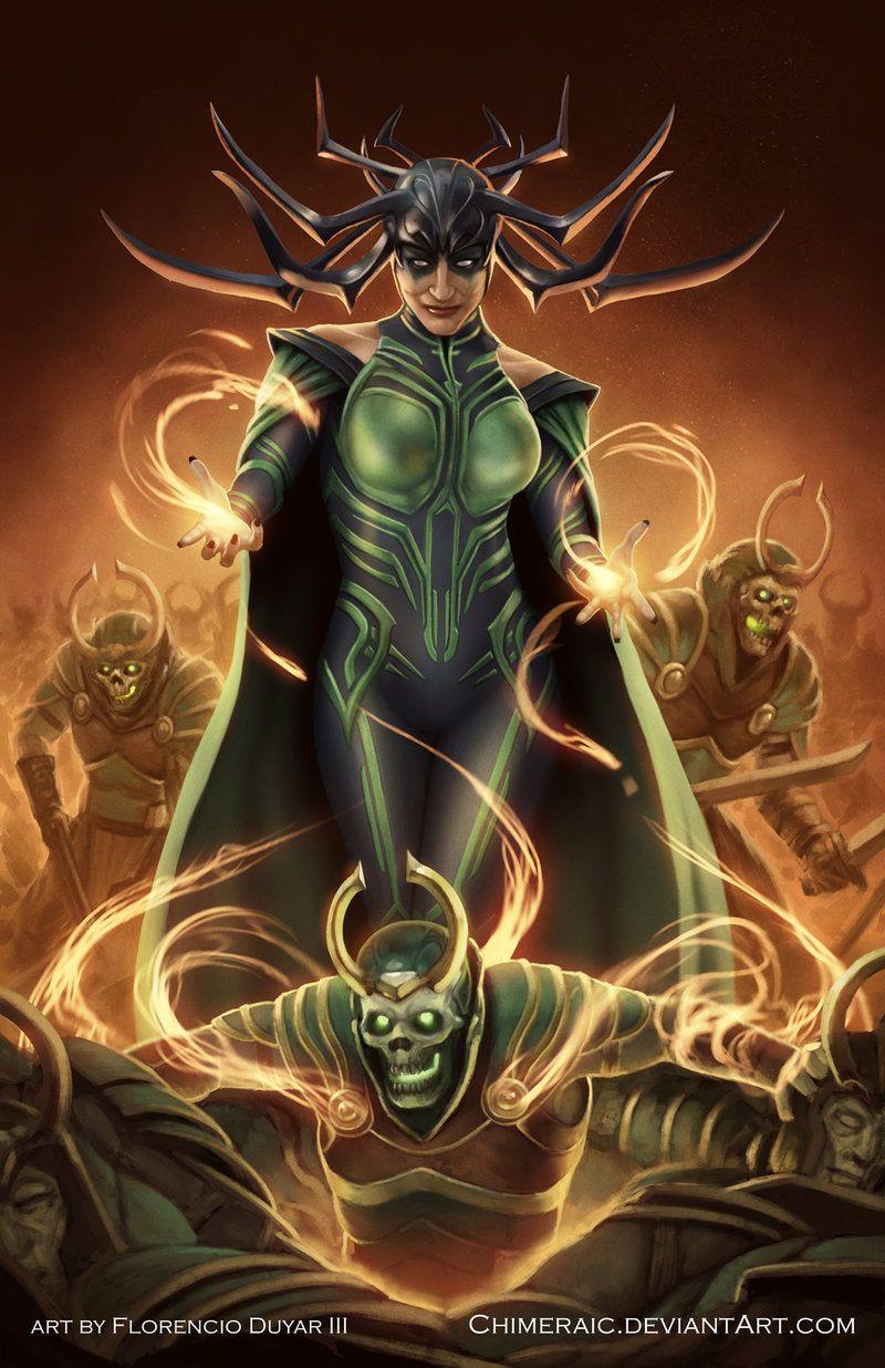 Thor: Ragnarok - Hela by chimeraic