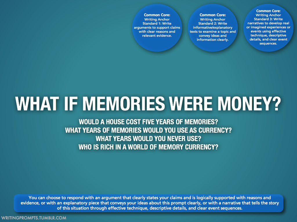 691 memory currency   Writing   Pinterest   Writing prompts and Prompts