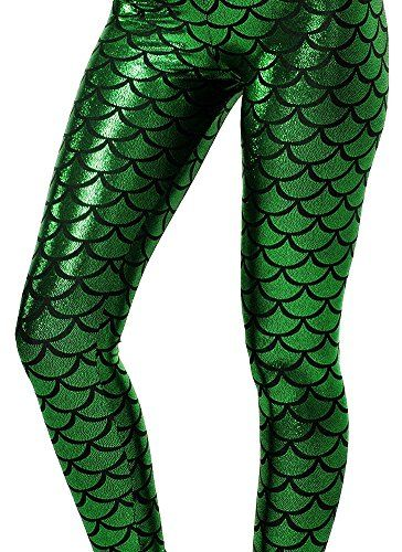 9dde194d01f74b Women's Leggings - Alaroo Shiny Fish Scale Mermaid Leggings for Women Pants  S3XL >>> Be sure to check out this awesome product.