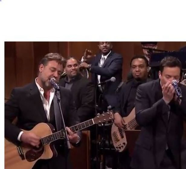 Russell Crowe Performs Johnny Cash Song On �The Tonight Show With Jimmy Fallon� [Video]